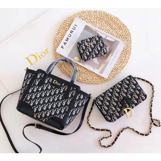 Dior - DIOR 3点セット トートバッグ ショルダーバッグ 財布