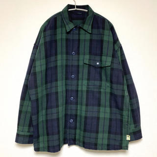 BEAMS - ssz 19aw A2 DECK SHIRT M