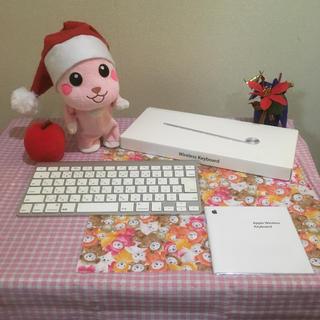 マック(Mac (Apple))のApple 純正ワイヤレスキーボード A1314 美品 ☆(PC周辺機器)