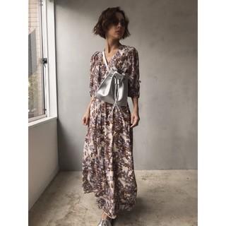 Ameri VINTAGE - Ameri VINTAGE GARDEN CHIFFON DRESS