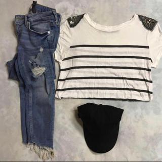 ザラ(ZARA)のZARA☆ナポレオンボーダーTシャツ☆(Tシャツ(半袖/袖なし))