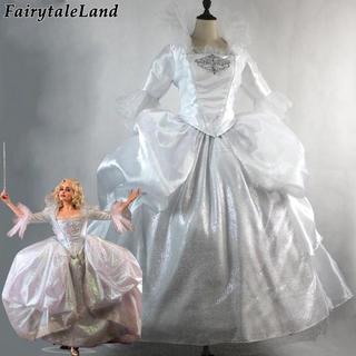実写版 シンデレラ フェアリーゴッドマザー ドレス コスプレ 衣装