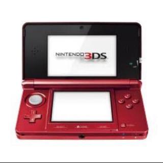 ニンテンドー3DS - 3DS 赤 フレアレッド 本体