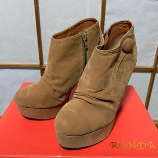 ランダ(RANDA)の RANDA 靴 ブーティ ショートブーツ ハイヒール パンプス (ブーティ)