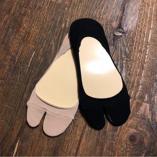 ジョンリンクス(jonnlynx)のはみ出さない 二本指 靴下 マルジェラ 足袋 フラット バレエ エアリフト (ソックス)