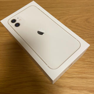 Apple - 【新品未使用】iPhone 11 64GB SIMフリー ホワイト