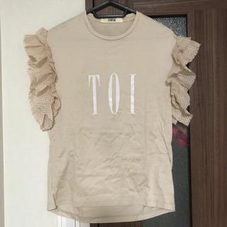ファーファー(fur fur)のFURFUR フリルTシャツ (Tシャツ(半袖/袖なし))