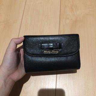 miumiu - ミュウミュウ折り財布 二つ折り財布