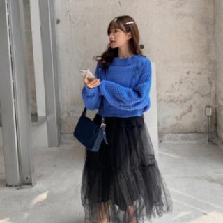 snidel - 新品■スナイデル ワンピース  snidel  青 黒