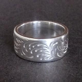 Silver Dollar Craft 唐草リング (L)