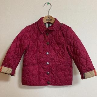BURBERRY - バーバリー キッズ 104  ワイン色のジャケット