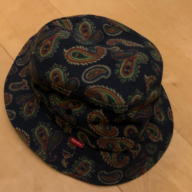 Supreme(シュプリーム)のsupreme paisley crusher hat メンズの帽子(ハット)の商品写真