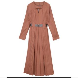 Ameri VINTAGE - ♡Ameri vintage♡belted tuck pleats ワンピース