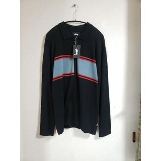 ステューシー(STUSSY)の新品未使用 ステューシー stussy ニット ポロシャツ ニットポロ シャツ(ニット/セーター)