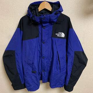 THE NORTH FACE - 90s THE NORTH FACE マウンテンジャケット 1990 古着 黒青