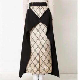 ルシェルブルー(LE CIEL BLEU)のIRENE Double Wrap Skirt (ロングスカート)