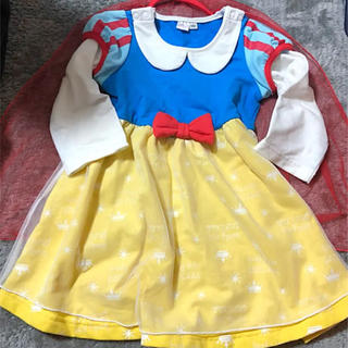 Disney - 白雪姫 なりきり コスチューム ワンピース