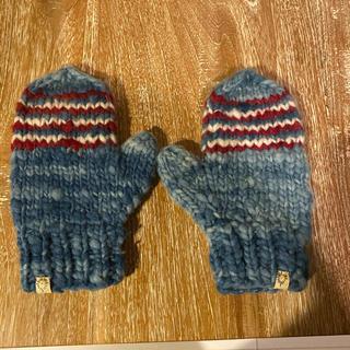 ヴィスヴィム(VISVIM)のvisvim カウチンインディゴ手袋(手袋)