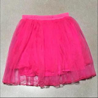 ピンク パニエ(ミニスカート)