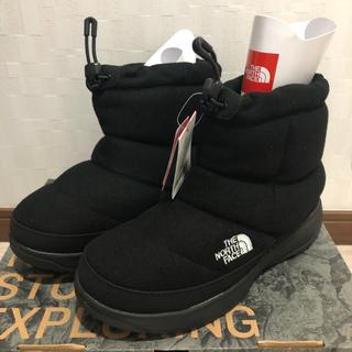 THE NORTH FACE -  新品 ノースフェイス  ヌプシ ブーティー ブーツ  24cm ブラック 黒