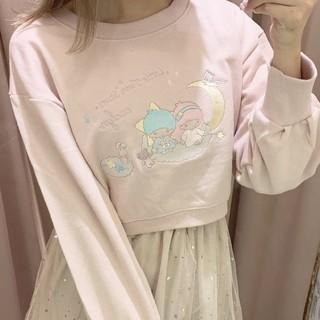 エブリン(evelyn)のキキララコラボスウェット(Tシャツ(長袖/七分))
