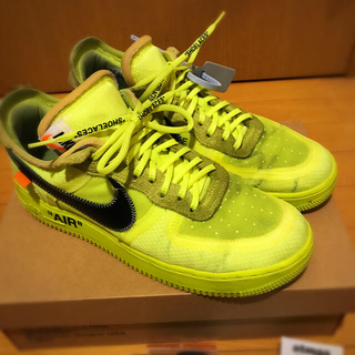 OFF-WHITE - the 10 nike air force 1 Low 10.5