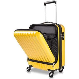 TABITORA(タビトラ)スーツケース 機内持込 イェロー2代目 ケース