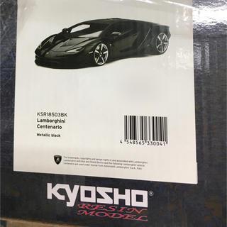 Lamborghini - 京商 1/18 チェンテナリオ 限定500台 ブラック 在庫残り1台!!
