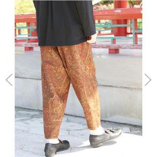 SUNSEA - YANTOR Jaquard Himo Pants