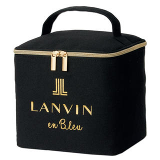 LANVIN en Bleu - sweet  1月号付録マルチボックス