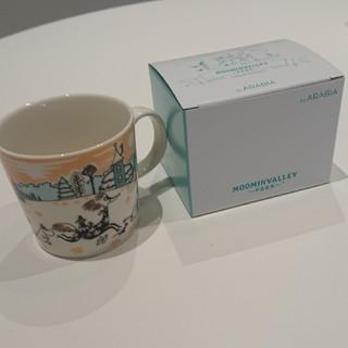 ARABIA - 送料込 ムーミンバレーパーク限定 アラビア ムーミンマグカップ1個 新品