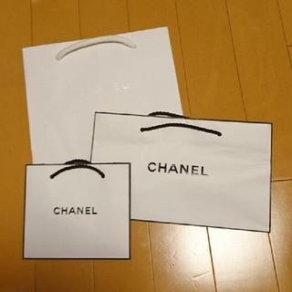 CHANEL - シャネル ショップ袋 三枚