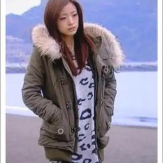SLY - sly スライの大人気 完売 上戸彩着 ミリタリー モッズ コート