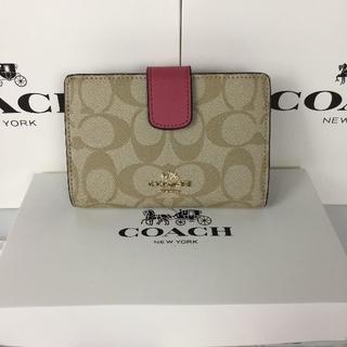 COACH - セール  コーチCOACH二つ折り財布