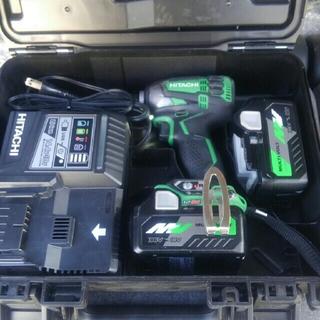 日立 - 【日立工機】WH36DA 緑 36Vインパクトドライバーフルセット【即納】