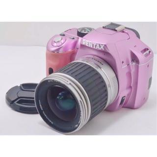 PENTAX - カメラ デジタル一眼レフ ペンタックス K-x ピンク