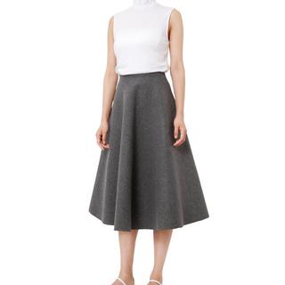 ルシェルブルー(LE CIEL BLEU)のルシェルブルー Wメルトンテントスカート(ひざ丈スカート)