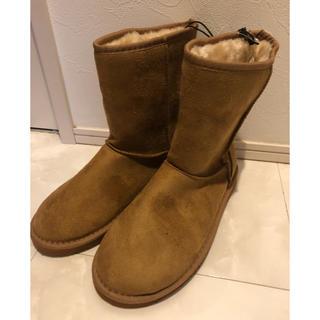 新品 タグ付き ムートンブーツ  フェイク フェイクムートンブーツ ブーツ (ブーツ)