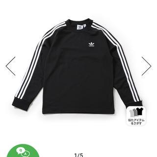 adidas - adidas Originals 3 STRIPES LS TEE 【S】