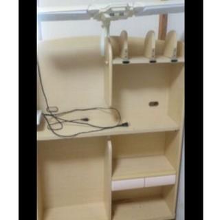 コイズミ(KOIZUMI)のコイズミ学習机棚(学習机)