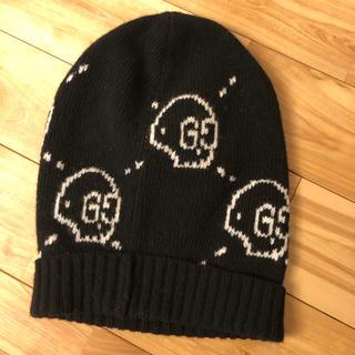 グッチ(Gucci)のgucci グッチ ゴースト ニット帽子 ニットキャップ (ニット帽/ビーニー)