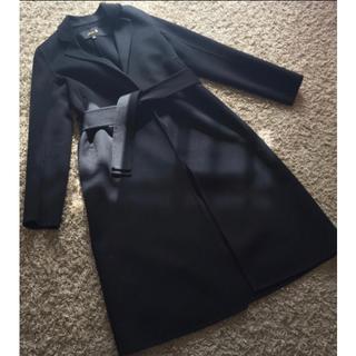 Drawer - drawer ロングコート ブラック