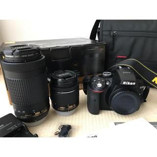 Nikon - Nikon D5300 ダブルズームキット & ニコン カメラバッグ 美品