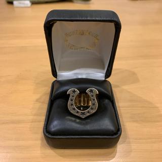 テンダーロイン(TENDERLOIN)のテンダーロイン ホースシューリング  8K ゴールド 石無し ピンキー キムタク(リング(指輪))
