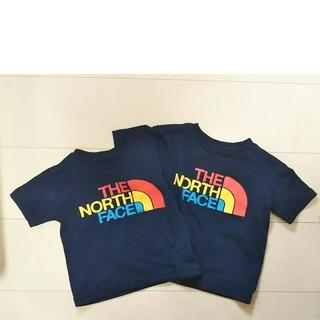 THE NORTH FACE - ノースフェイス 半袖 80センチと100センチ