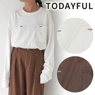 TODAYFUL - TODAYFUL Salt & Sugar Long T-shirts