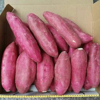 (2kg)宮崎紅 さつまいもほくほく15~20本 丸型少し混ざる場合あり