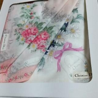 クリスチャンディオール(Christian Dior)のクリスチャンディオール  ハンカチ(ハンカチ)