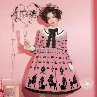 アンジェリックプリティー(Angelic Pretty)のangelsheart lolitaワンピース(ひざ丈ワンピース)
