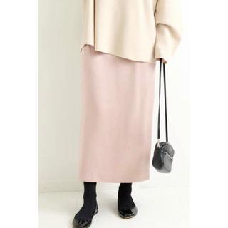 IENA - IENA  グロッシーサテンタイトスカート